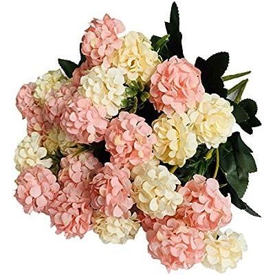 Artificial Silk Rose Flowers Plants Plastic Flower Wedding Bouquet Table Decor