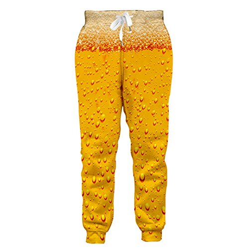 Unisex Bier Full Print 3D Sweatshirts/Sweatpants/T-Shirt Anzug