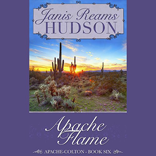 Apache Flame audiobook cover art