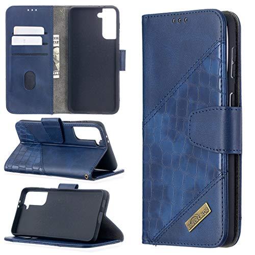 Carcasa de telefono Estuche para Samsung Galaxy S30 Plus Multifuncional Cartera Teléfono Móvil Caja de cuero Premium Color Sólido PU Caja de cuero, Titular de la tarjeta de crédito Función Función Caj