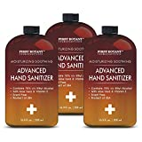 70% Alcohol Disposable Hand Sanitizer Gel (3 Pack x 16.9 fl oz), Kills 99.99% Germs No Water Required, Long-lasting Anti-Bacterial Hand Wash Quick Drying Liquid Hand Soap