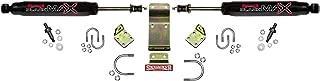 Skyjacker 8203 Dual Stabilizer Kit (Includes Steering Dampers Mounting Brackets for Jeep Wrangler JK-Black)