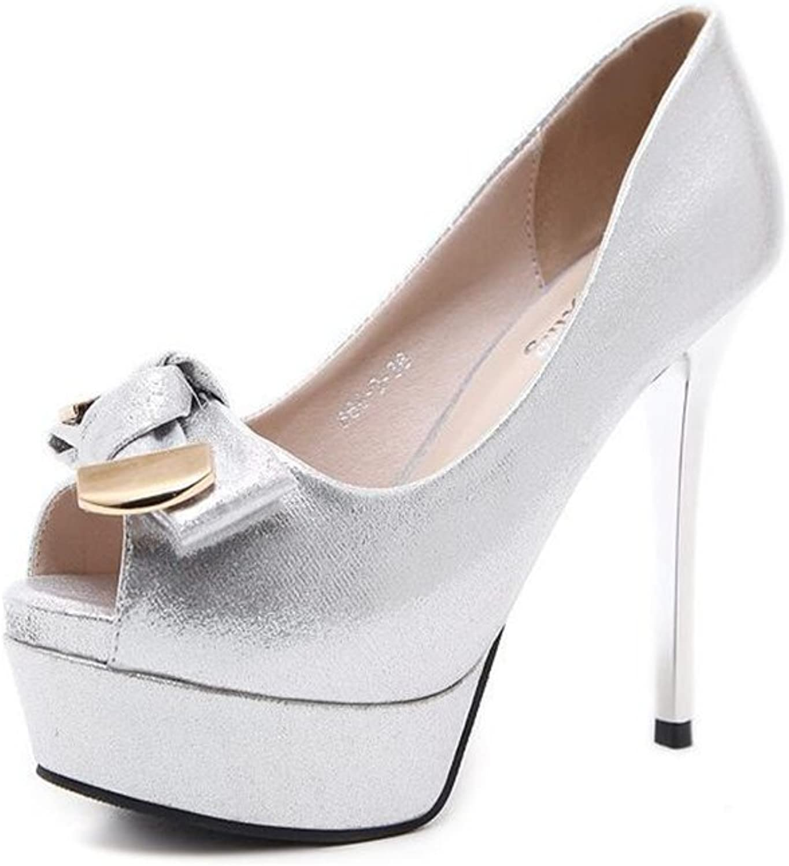 Cloudless Women's Extreme Pointed Toe Hidden Platform Sexy Stiletto High Heel Pump shoes