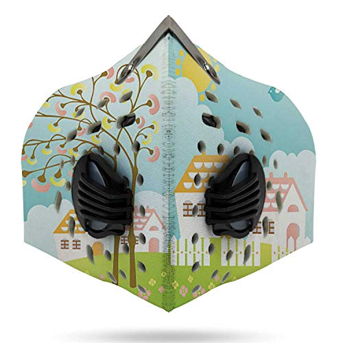 Sweet Homes- Springtime,3D Durable Sports anas for Dust, Outdoors, Festivals, Sports House