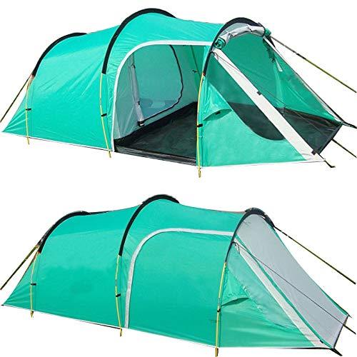ZFLL outdoor tent Outdoor Camping Tents Familie Party Reizen Tent 3-4 Personen Mountain Tent Een Slaapkamer & Een Woonkamer Waterdichte Evenement Tent