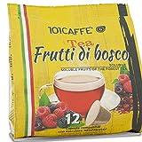 101CAFFE' Tea ai Frutti di Bosco   Sacchetto da: 12 capsule compatibile con Nespresso�