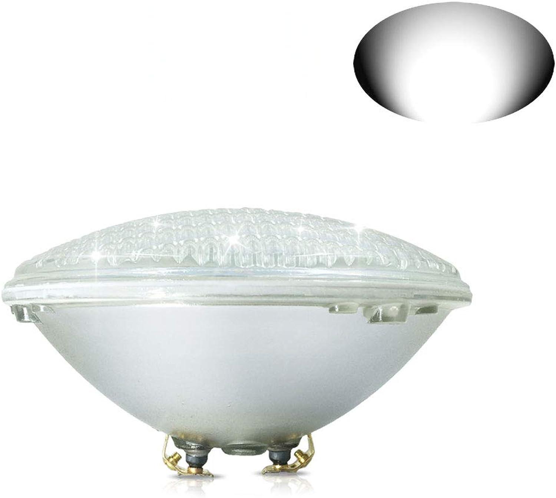 COOLWEST 36W LED Poolbeleuchtung Wei Unterwasserleuchten, 12V AC DC IP68 Wasserdicht Unterwasser PAR56 Pool Scheinwerfer, ersetzen 300W Halogen Spot
