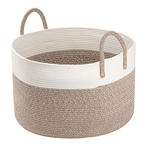 Extra Large Woven Hamper Basket with Handles