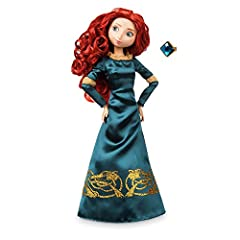 Genuine, Original, Authentic Disney Store Deluxe satin costume with sparkling organza trims and glittering filigree Holographic'' glitter detail Fully poseable Comes with jeweled ''wear and share'' ring for you!