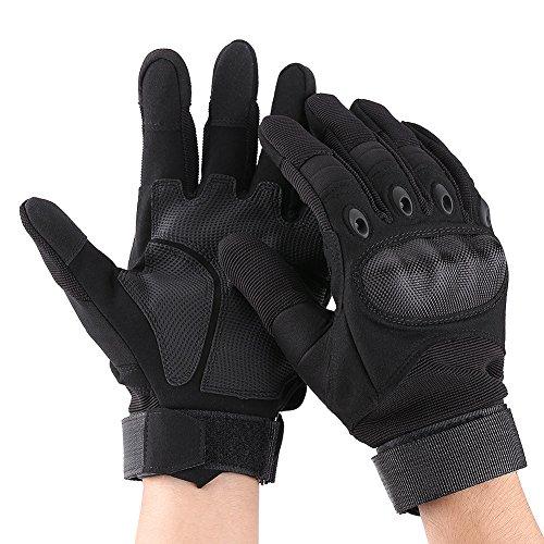 WYLZLIY-Home Guantes de dedo completo con estilo guantes de motocicleta deportes al aire libre Racing Motocross guantes para escalada bicicleta ATV Motocross etc L