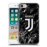 Head Case Designs Licenza Ufficiale Juventus Football Club Nero Marmoreo Cover Dura per Parte Posteriore Compatibile con Apple iPhone 7 / iPhone 8 / iPhone SE 2020