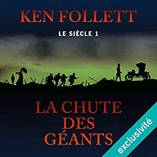 La chute des géants audiobook cover art