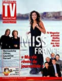 TV MAGAZINE LE FIGARO [No 20356] du 10/01/2010 - MISS FRANCE MALIKA MENARD -BERNADETTE CHIRAC ET LAURENCE FERRARI