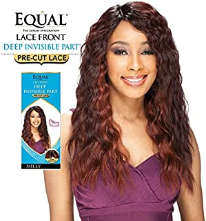 Shake-N-Go Equal Lace Front Deep Invisible Part Pre-Cut Lace Milly (OP30240)