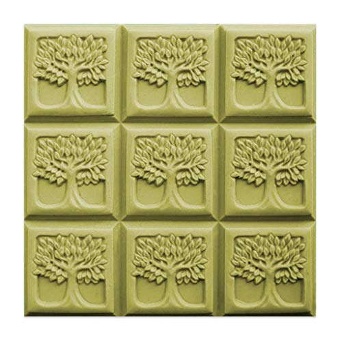 Milky Way Tree of Life Soap Mold Tray - Melt and Pour - Cold Process - Clear PVC - Not Silicone - MW 190