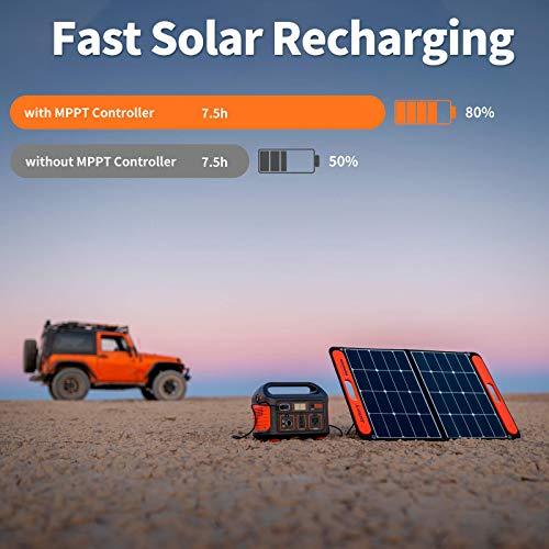 Jackery Portable Power Station Explorer 500, 518Wh Outdoor Solar Generator Mobile Lithium Battery...