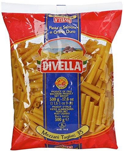 Divella - Mezzani Tagliati, Pasta di Semola di Grano Duro - 500 g