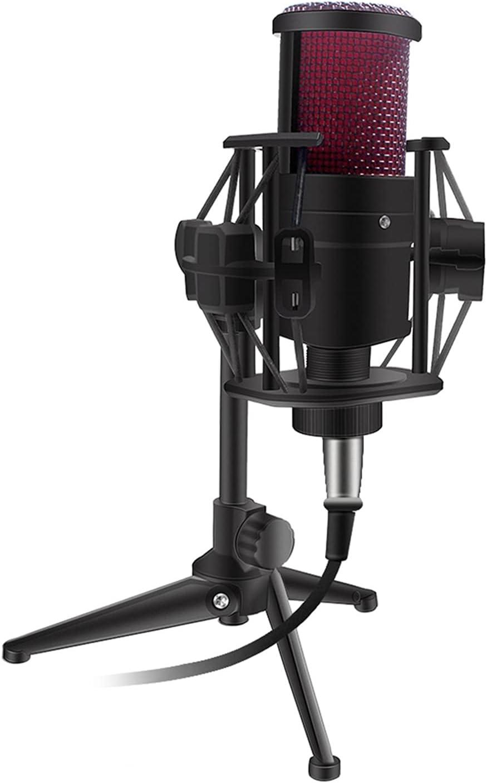 Sale item mic V500 Atlanta Mall Condenser Microphone for PhoneLaptop Direc 3.5MM Smart