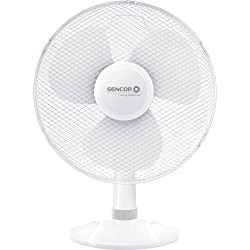 Ventilatore TAVOLO ø23cm Bianco//Ventilatore MACCHINA DEL VENTO ARIA piccolo radiatore nuova