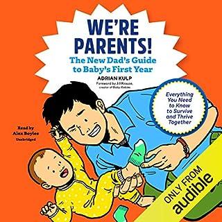 We're Parents! audiobook cover art
