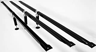 B & H Panel Company Slats Bed Supports - Strong Durable Powder Coated Steel! Made in The U.S.A with American Steel
