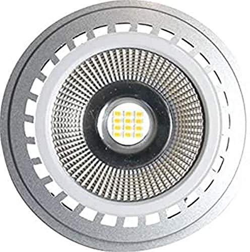 Silver Electronics ampoules gU10 3000 K, 12 W, Argent