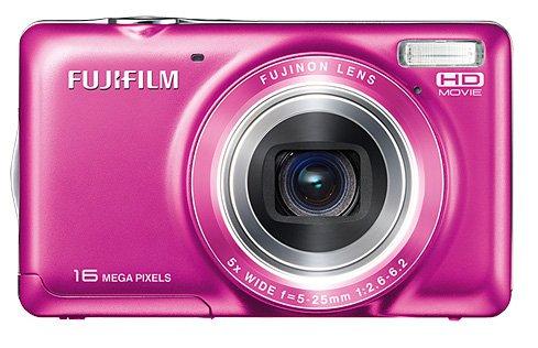 Fujifilm FinePix JX420 Kompaktkamera 16MP 1/2.3Zoll CCD 4608 x 3440Pixel Pink - Digitalkameras (16 MP, 4608 x 3440 Pixel, CCD, 5X, HD, Pink)