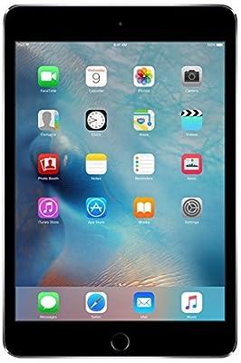 Apple iPad Mini 4 128GB Wi-Fi - Space Grey (Renewed)