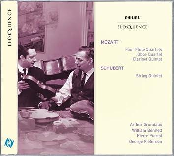 Mozart: Four Flute Quartets; Oboe Quartet; Clarinet Quintet; Schubert: String Quintet