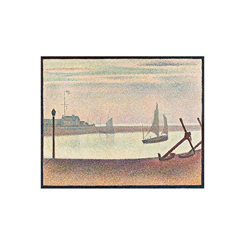 N/C Rompecabezas Rompecabezas de Madera 1000 Piezas Foto Pintura Decoración Impresionista Seurat 9