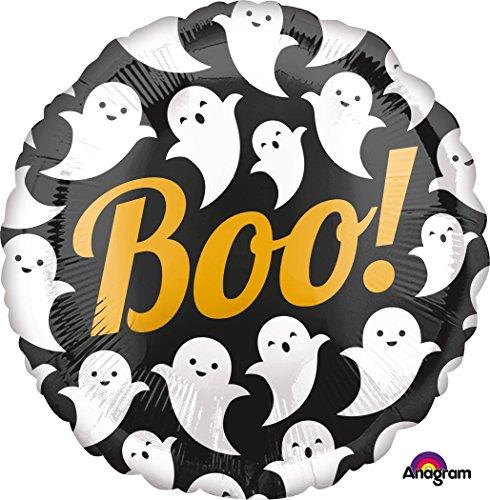 Folieballon * BOO! Halloween * // folies ballon party helium decoratie ballongas dispenser Ghost