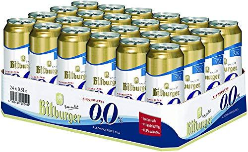 Bitburger 0,0% Alkoholfrei 24 x 0,5l Dose inkl. Pfand