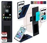 reboon Hülle für Switel eSmart H1 Tasche Cover Case Bumper | Blau | Testsieger