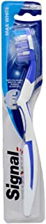 Signal Max White, with polishing bristles and rubber filaments, medium