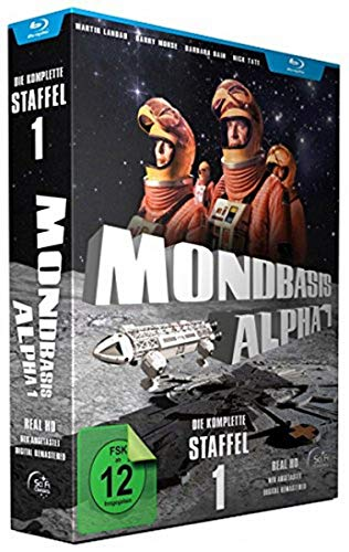 Mondbasis Alpha 1 - Die komplette erste Staffel (Folge 1-24) - Extended Version HD (Real HD-Neuabtastung) [6 BLU-RAY]