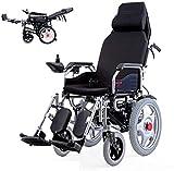 Silla de ruedas eléctrica Las sillas de ruedas eléctricas de seguridad for sillas de ruedas portátil con función de alarma de marcha atrás con la batería de litio 2, Max 20km distancia, a 5 km / H (ce