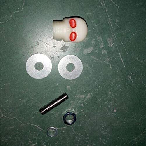 C-FUNN 6mm Motoraccessoires Gemodificeerde Schedel Kito Sierschroeven Voor IJzeren Paard Harley Kleur: wit