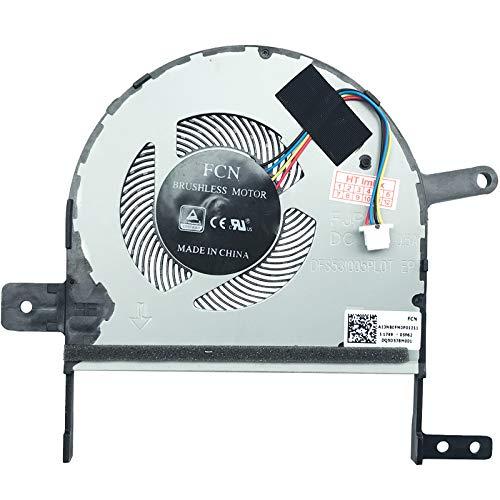 Ventilador Compatible con ASUS K510UN-bq502t, K510UR-ej293t, K510UF-br048, R520UF-BQ275T, R520UF-BQ275T, R520UF-BQ275T, F510UF-es71, F510UF-br683, K510UQ-bq684r, F510UA-ah51