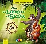 El libro de la selva - Lectura facilitada / Editorial GEU/ Niños con NEE / Enseña a leer / Textos adaptados en mayor tamaño / Incluye App gratuita