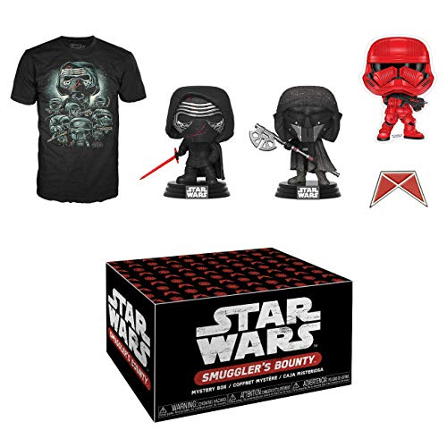 Funko Star Wars Smuggler's Bounty Subscription Box, Forces of Darkness, October 2019, Large T-Shirt