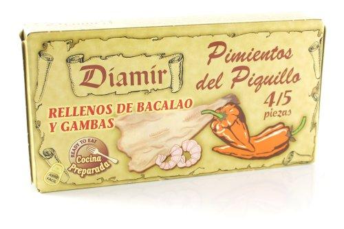 Diamir Pimientos del Piquillo - Paprikaschoten mit Stockfisch & Gambas gefüllt