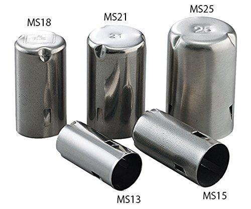アズワン ステンレスモルトン栓 18Φmm用 MS18 1袋(50個) 7-4870-03