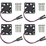 Easycargo Raspberry Pi 4 Fan 30x30x7mm, Raspberry Pi Cooling Fan Brushless 3.3V...