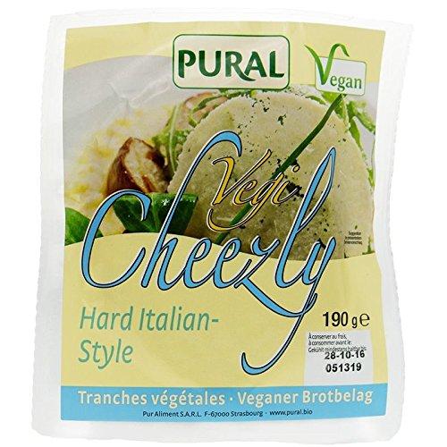 Pural Vegi Cheezly Hard Italian-Style - 190g