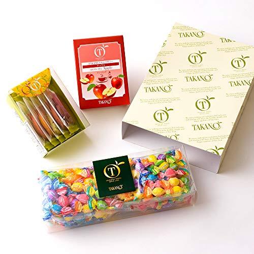 新宿高野 フルーツチョコレート&ティータイムセット EA ( フルーツチョコレートBOX / 果実サブレハーフBOX / ティーバッグ アップル ) 詰め合わせ ギフト 母の日 ( 箱入り )