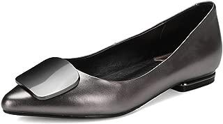 Nine Seven Women's Leather Pointtoe Flatheel Flat