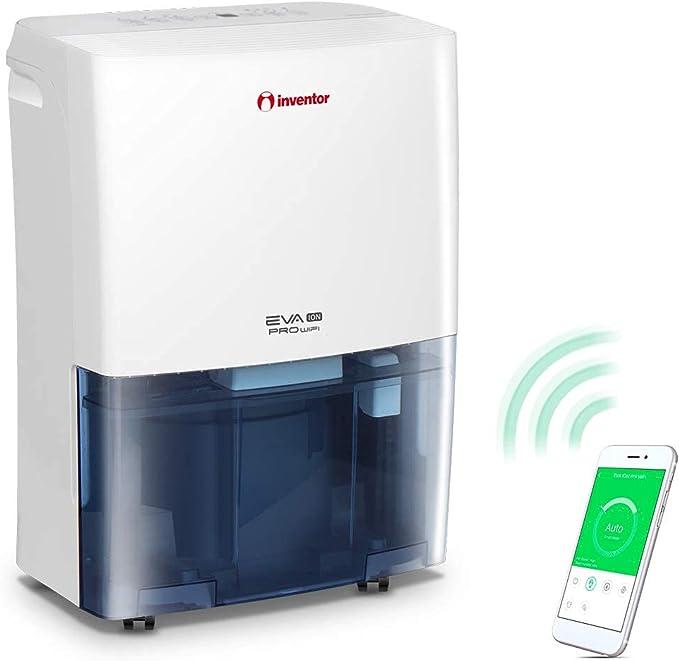 7948 opinioni per Inventor Eva ION PRO WiFi, Deumidificatore 16L/24h (Adatto fino a 50m2), WiFi,
