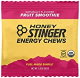Honey Stinger Organic Energy Chews, Fruit Smoothie, Sports Nutrition, 1.8 Ounce (Pack of 12)
