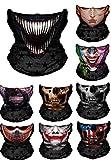 WYShop 3D Halloween Maske Festival Motorrad Gesichtsschutz Outdoor Sonnenmaske Sturmhaube Partei...