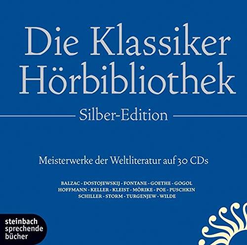 Die Klassiker-Hörbibliothek. 15 ausgewählte Werke der Weltliteratur. Autoren: Balzac, Dickens, Fontane, Poe, Wilde u.v.a. 30 CDs